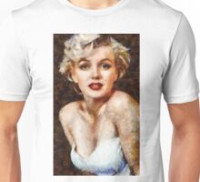 Marilyn Monroe Vintage Hollywood Actress Unisex T-Shirt