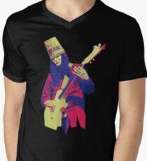Camiseta para hombre de cuello en v Buckethead - Warm - WPAP