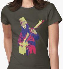 Buckethead - Warm - WPAP Womens Fitted T-Shirt