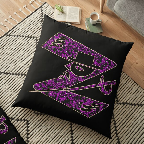 In the name of Zorro - Z for Zorro with his famous sword 2! Floor Pillow