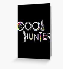 COOLHUNTER Greeting Card
