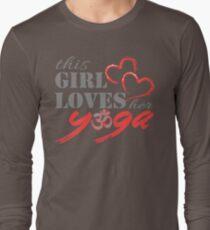 This Girl Loves her YOGA T-Shirt