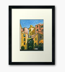 """Cinque Terre Morning""   [ $300 ] Framed Print"