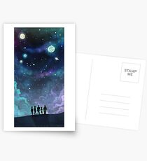 Space Family Postcards