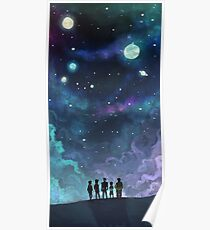 Space Family Poster