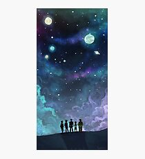 Space Family Photographic Print