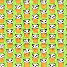 cute as a cactus panda by jazzydevil