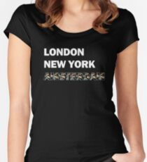 London Women's Fitted Scoop T-Shirt