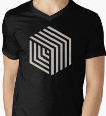 Hexa-cube Men's V-Neck T-Shirt
