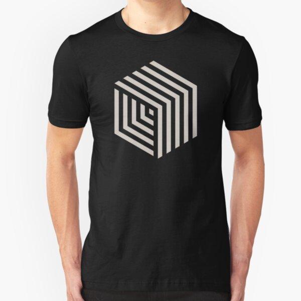 Cubo hexa Camiseta ajustada