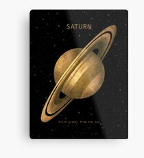 Saturn Metallbild