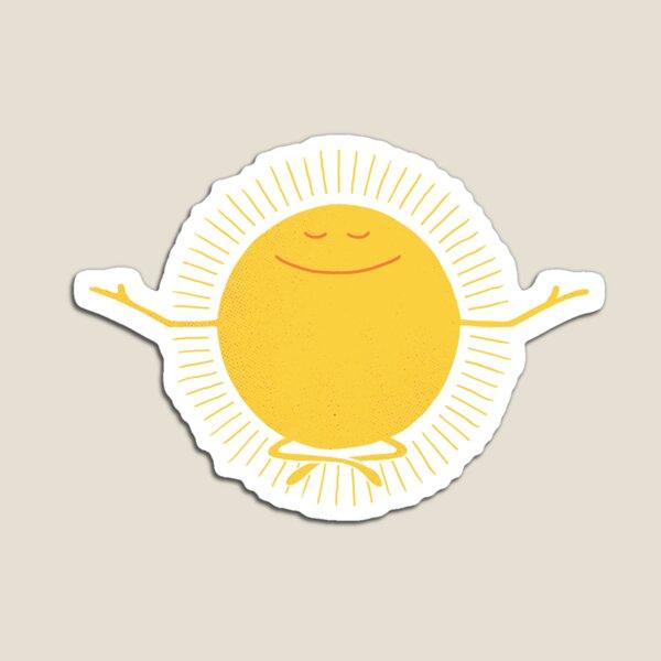 Sun Worshipper Magnet