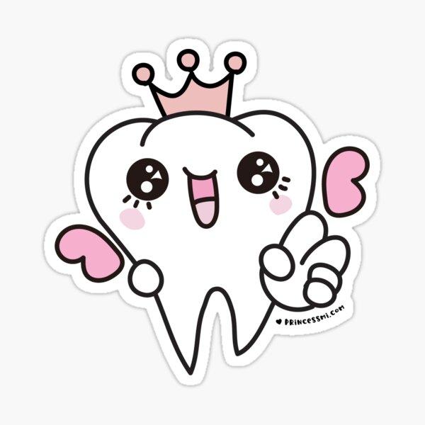 tooth fairy cartoon  Sticker
