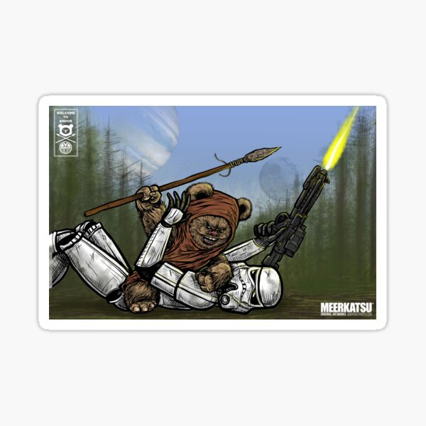 Welcome to Endor Sticker