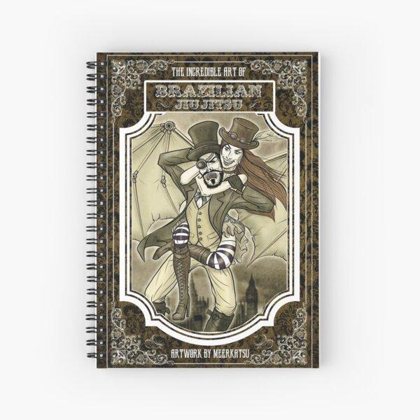 Steampunk JiuJitsu Spiral Notebook