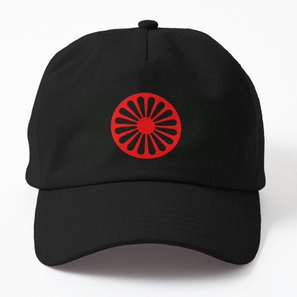 Romani anarchist flag Dad Hat