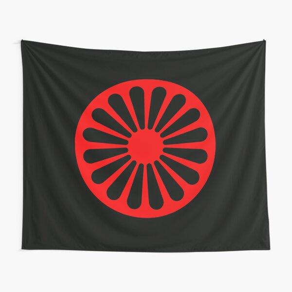 Romani anarchist flag Tapestry