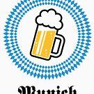Munich 1 Beer (Bavaria Germany) by MrFaulbaum