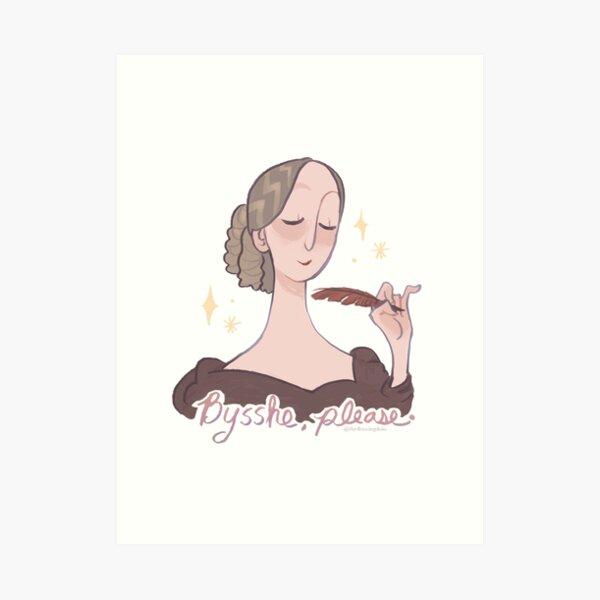 Contrary Mary Shelley Art Print
