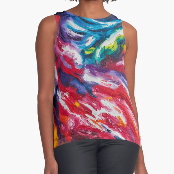 Dichotomy Sleeveless Top