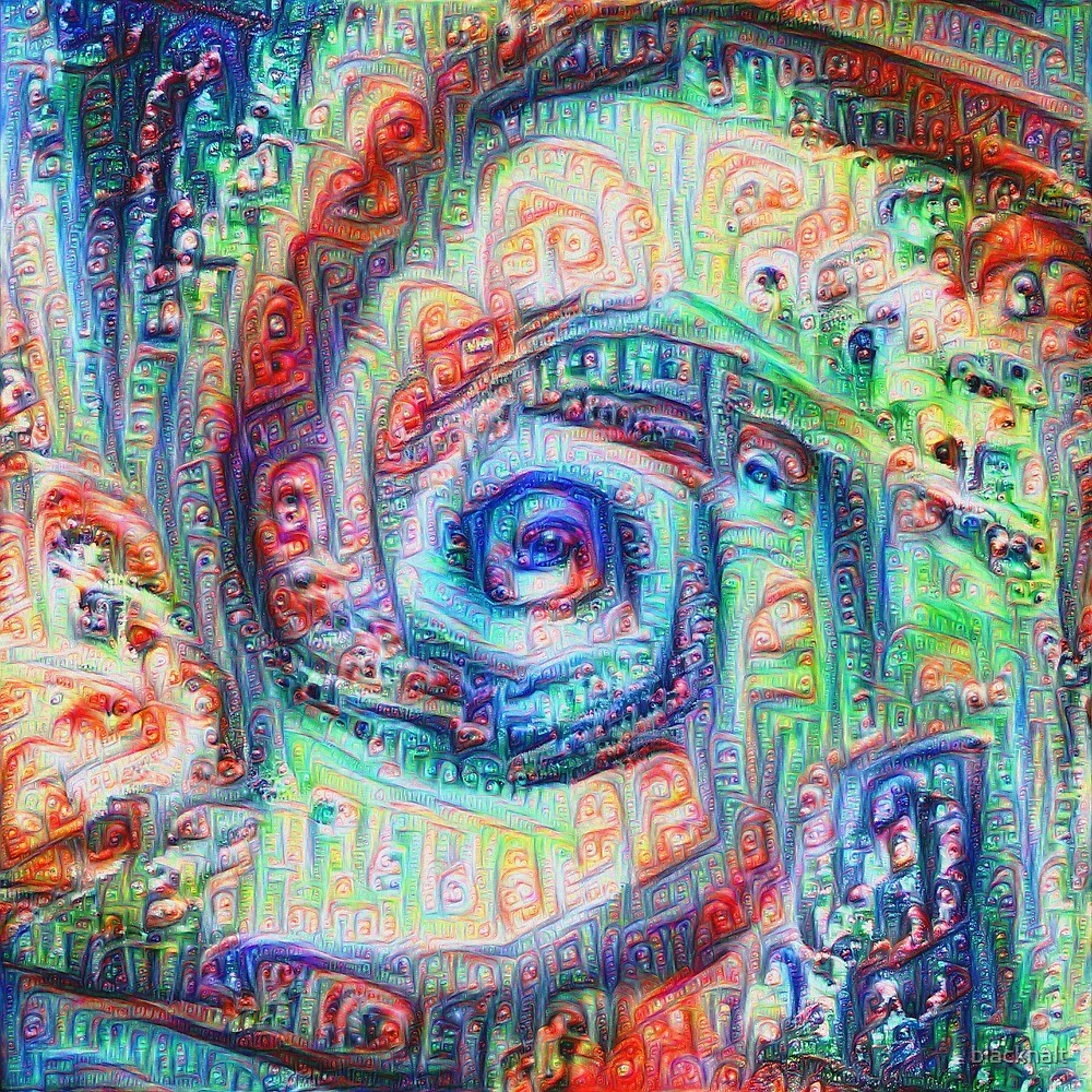 Vortex dragon #DeepDream A by blackhalt