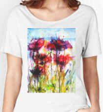 Poppy Love Women's Relaxed Fit T-Shirt