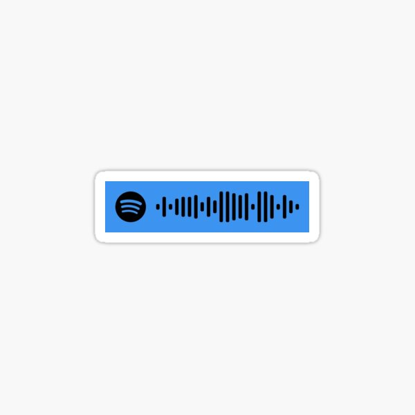 Bleib - The Kid Laroi Spotify Code Sticker