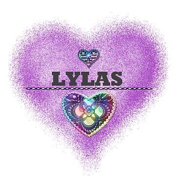 LYLAS Purple Heart  by LittleCsDesigns