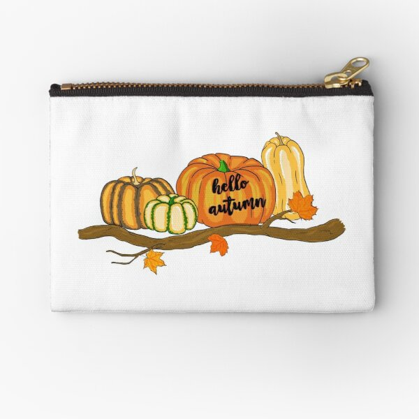 hello autumn Zipper Pouch