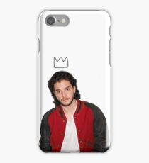 KIT HARRINGTON CROWN PRINT iPhone Case/Skin