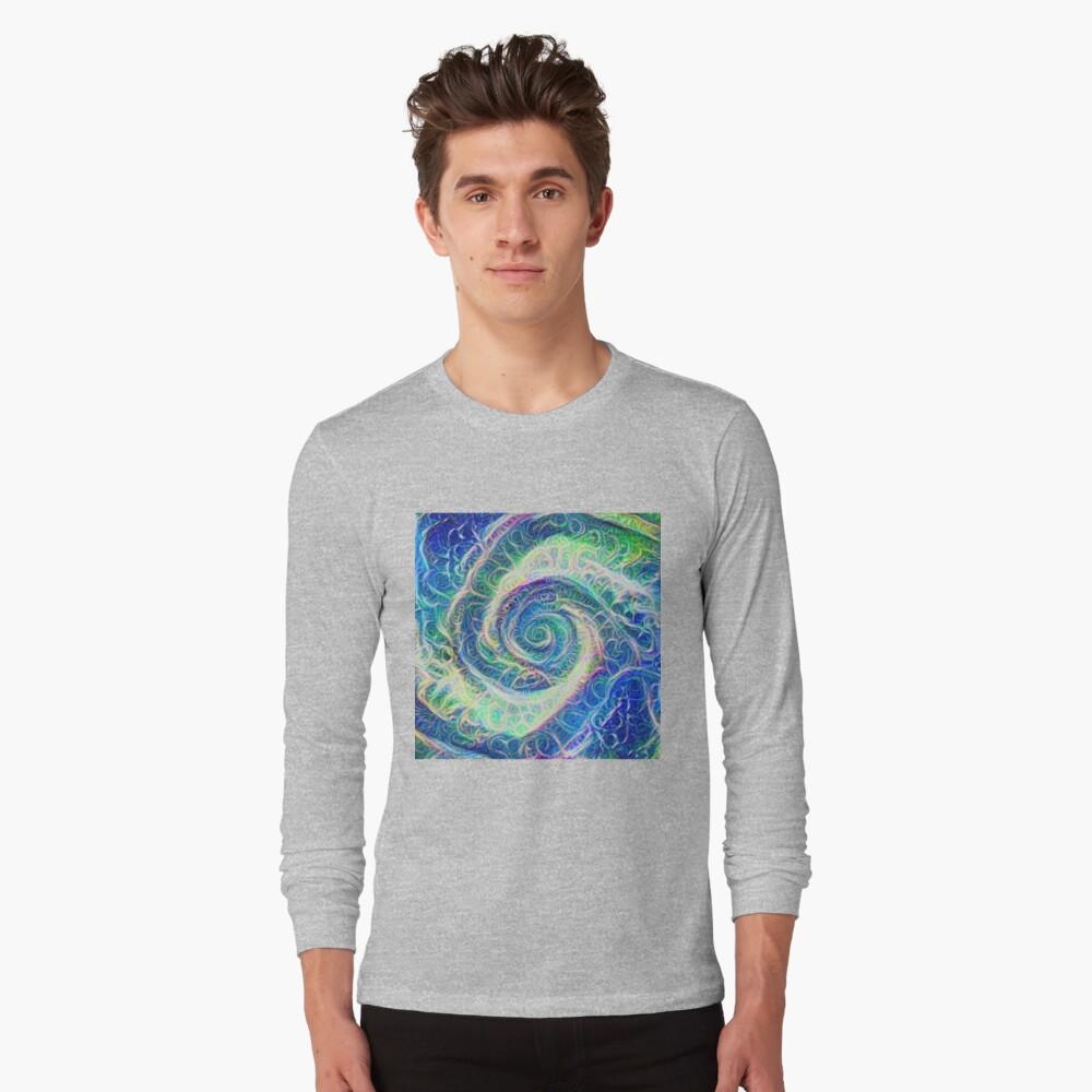 Vortex dragon #DeepDream B Long Sleeve T-Shirt