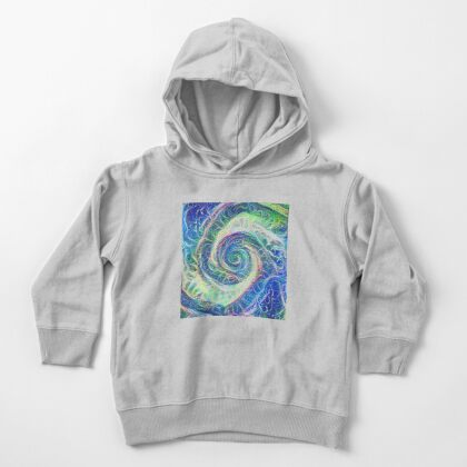 Vortex dragon #DeepDream B Toddler Pullover Hoodie