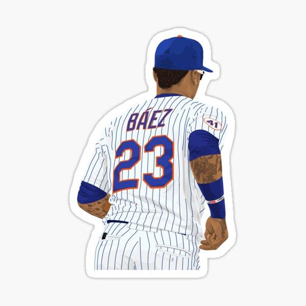 Javier Báez 23 Sticker