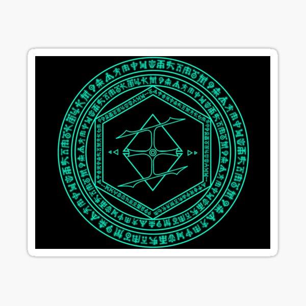 Doom Eternal Crystal Ritual Sticker
