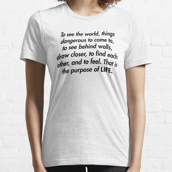 Walter Mitty LIFE Magazine Motto Essential T-Shirt