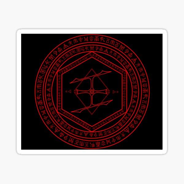Doom Eternal Blood Ritual Sticker