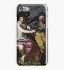 Velazquez - El Triunfo De Baco O Los Borrachos (Museo Del Prado, 1628-29) iPhone Case/Skin