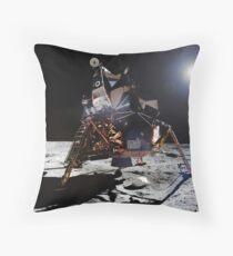 Apollo 11 Lunar Module Throw Pillow
