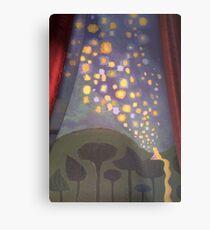 The Floating Lights Metal Print
