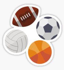 Sports Balls (Icons) Sticker
