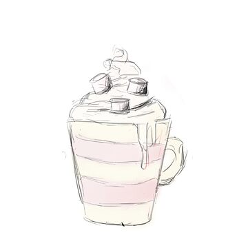 hot chocolate by givemeenvy