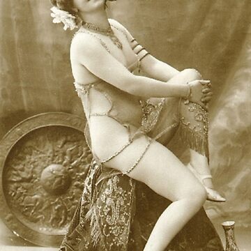 A Pretty French Lady Vintage Photograph by ClassicNudes