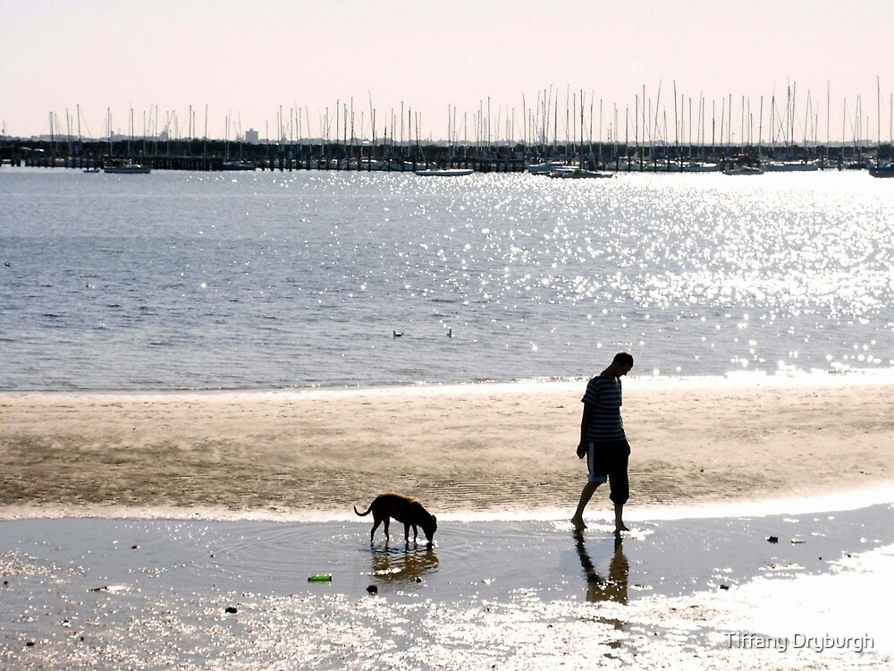 A Man and his Dog by Tiffany Dryburgh