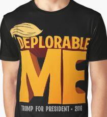Deplorable Me: Basket of Deplorables Graphic T-Shirt
