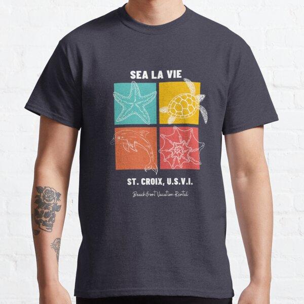 Sea La Vie Wildlife White Classic T-Shirt