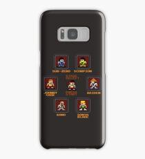 8-bit Mortal Kombat 'Megaman' Stage Select Screen Samsung Galaxy Case/Skin