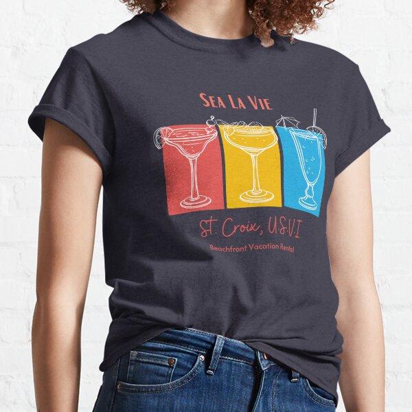 Sea La Vie Tropical Drinks White Classic T-Shirt