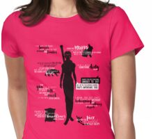 Dragon Age - Merrill Quotes Womens Fitted T-Shirt