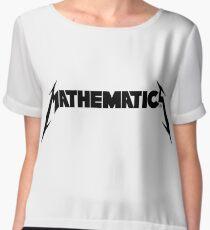 Mathematics! Chiffon Top