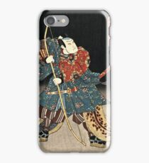 Utagawa Kunisada - An Actor In The Role Of Saitogo Kunitake  iPhone Case/Skin